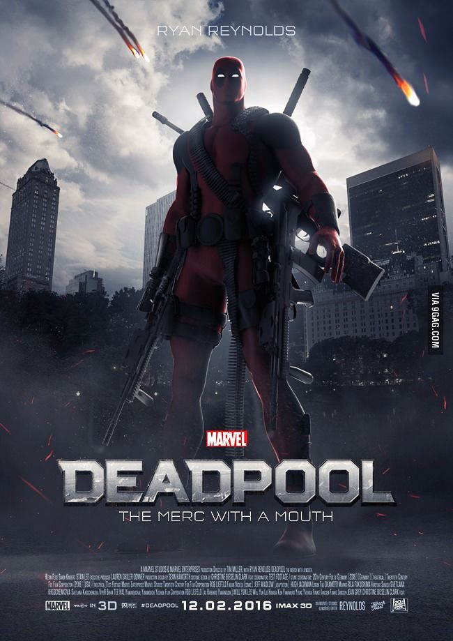 دانلود  Deadpool 2016                   @
